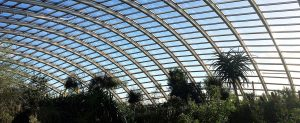 Multiwall polycarbonate skylight