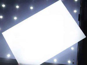 LED diffuser film