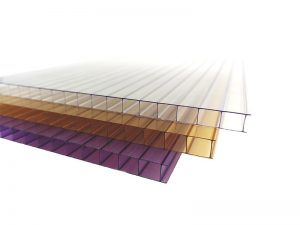 8mm double wall polycarbonate sheet