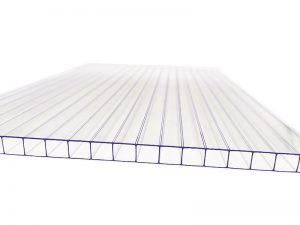 Transparent Twin Wall Polycarbonate sheet