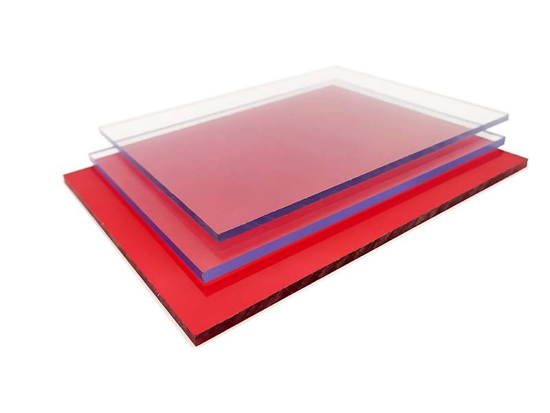 Fire proof plastic sheet