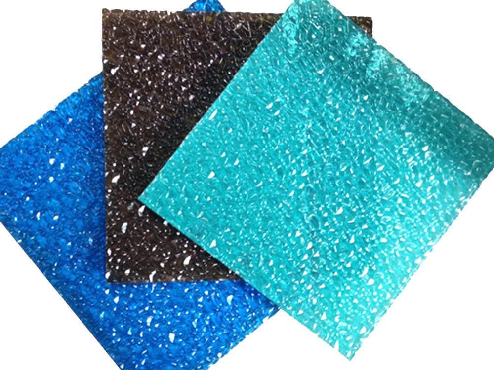 texture polycarbonate sheet