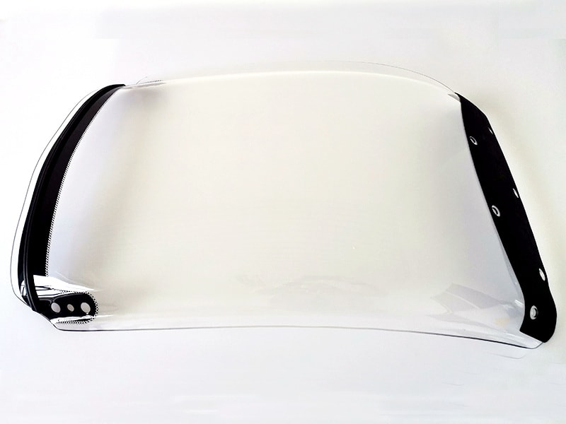 polycarbonate car windshield