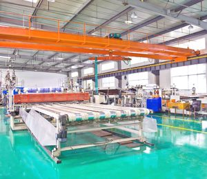Polycarbonate workshop in China