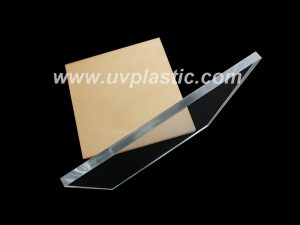 Clear plexiglass sheet