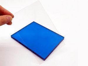 Optical polycarbonate panel