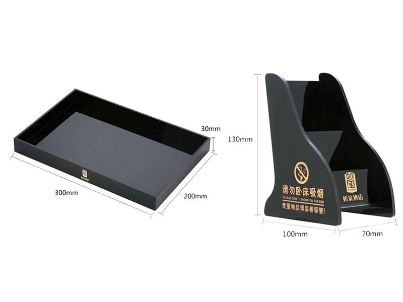 PMMA tray