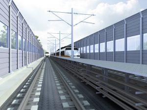 20mm acrylic barrier