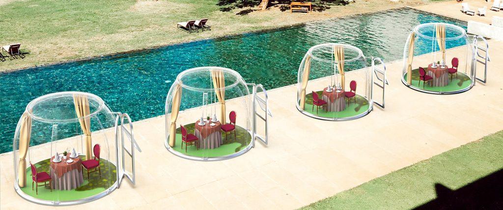 Polycarbonate Bubble Tent