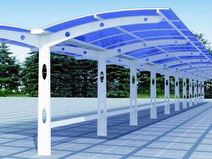 UVPLASTIC solid polycarbonate sheet is the best material for home DIY projects like polycarbonate carport, swinming poor encluser, pergola, etc.