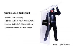 Supplier of riot shield in China