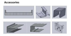 Polycarbonate roofing accessories