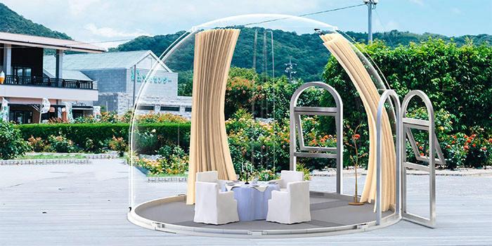 4m bubble tent
