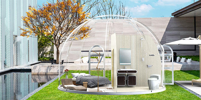 Glamping home kit