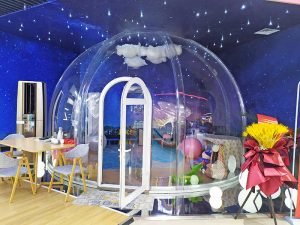 Bubble Tent for store application