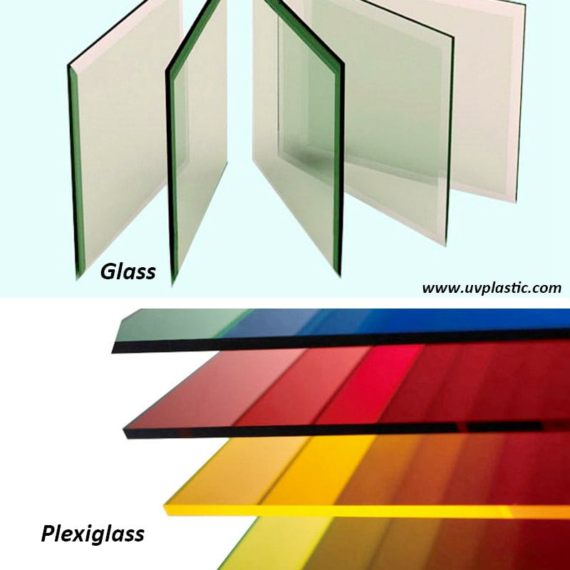 Difference Plexiglass vs Glass