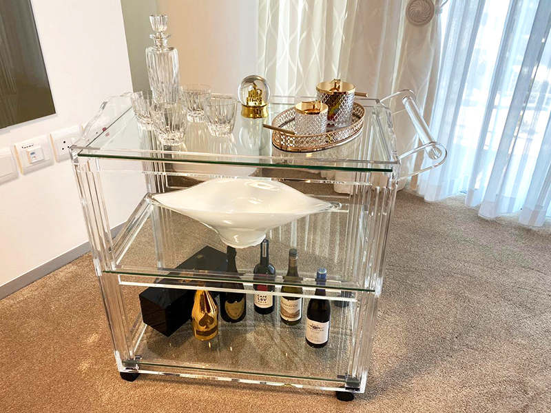 Plexiglass furniture