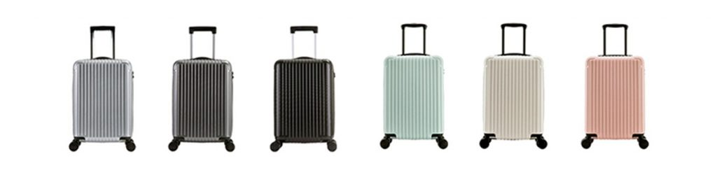 Polycarbonate sheet for luggage