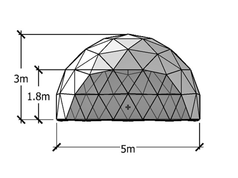 5m Geodesic Dome