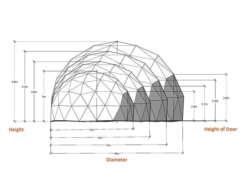 Custom Geodesic Dome