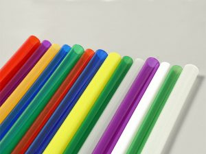 Colored Acrylic Cylinder