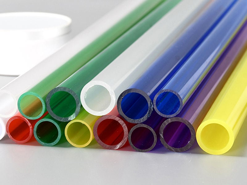 Colored PMMA Tube