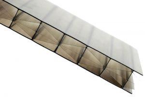 Gray Polycarbonate Siding