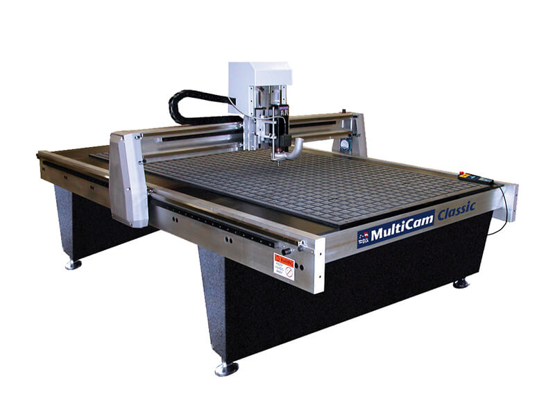 Machine for polycarbonate