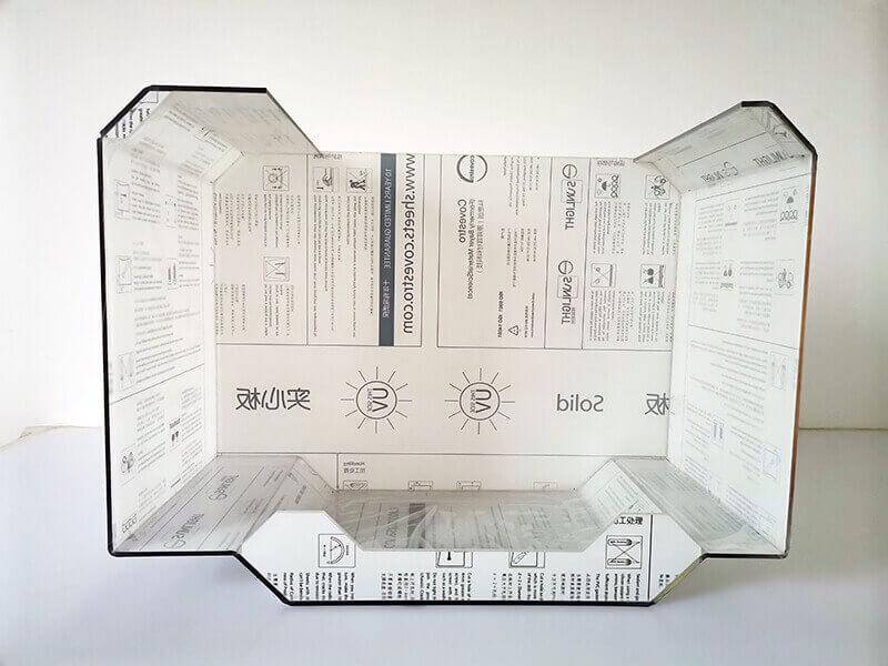 Machining polycarbonate box