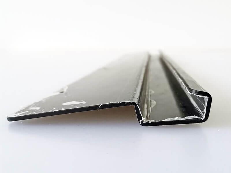 plaque polycarbonate noire