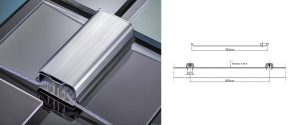 Solid polycarbonate roof panel