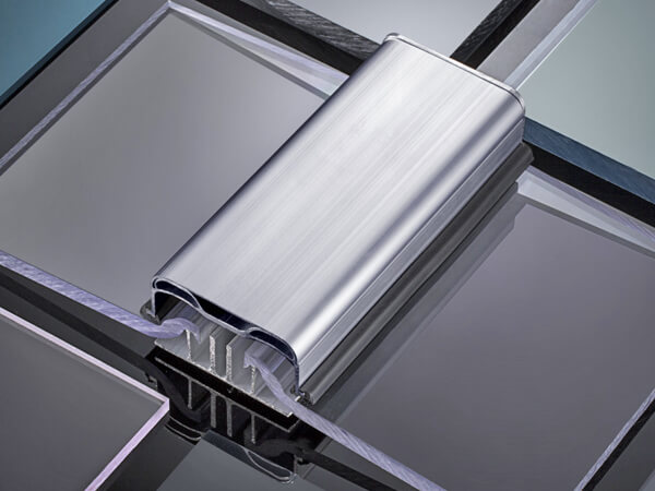 Polycarbonate roofing panel