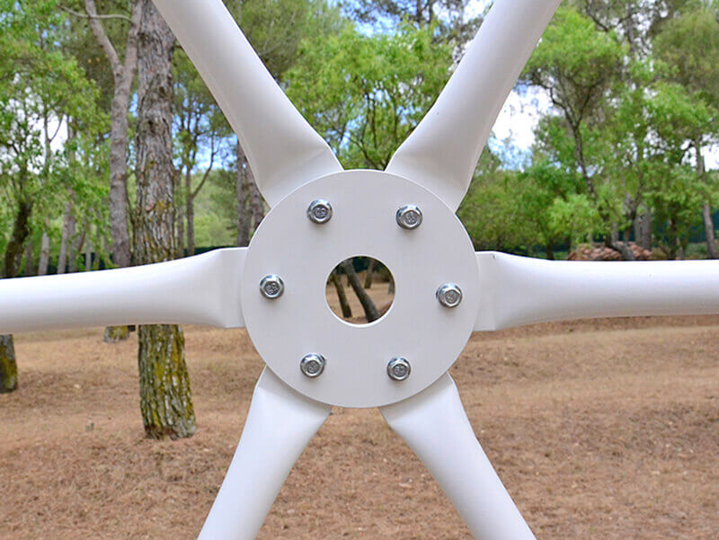 Flange plate for Geodesic Dome Tent