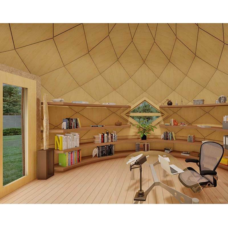 Geodesic Dome for hut