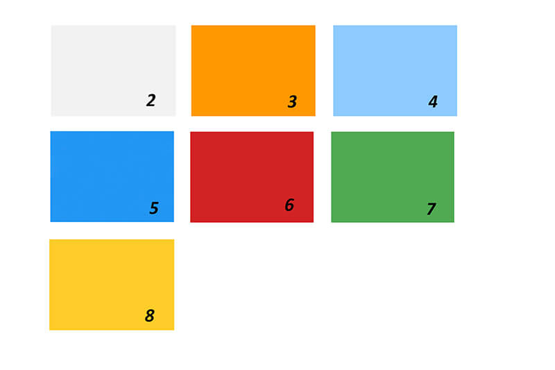 Color Range for Polycarbonate Facade panel
