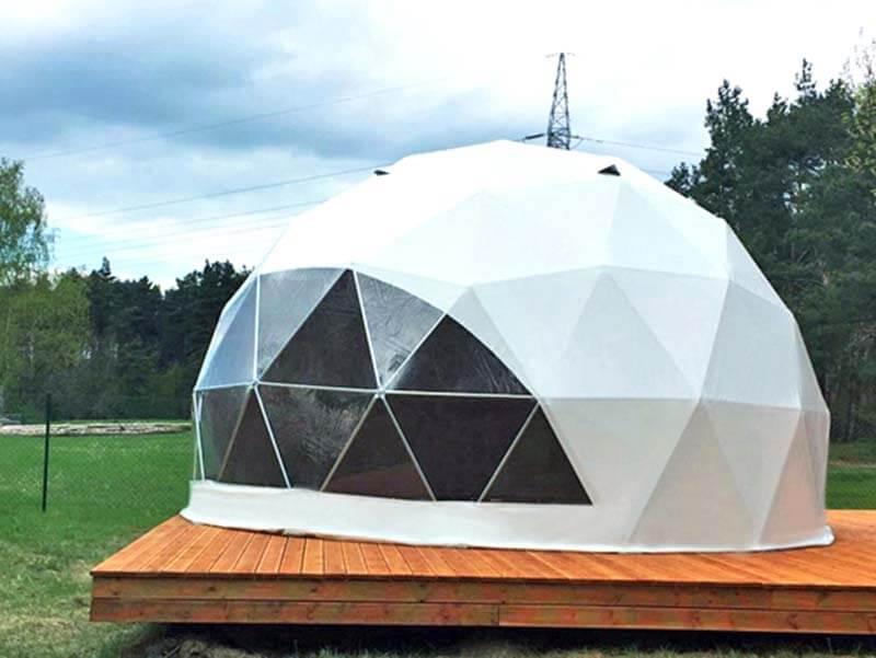 6 meters Geodesic Dome Tent