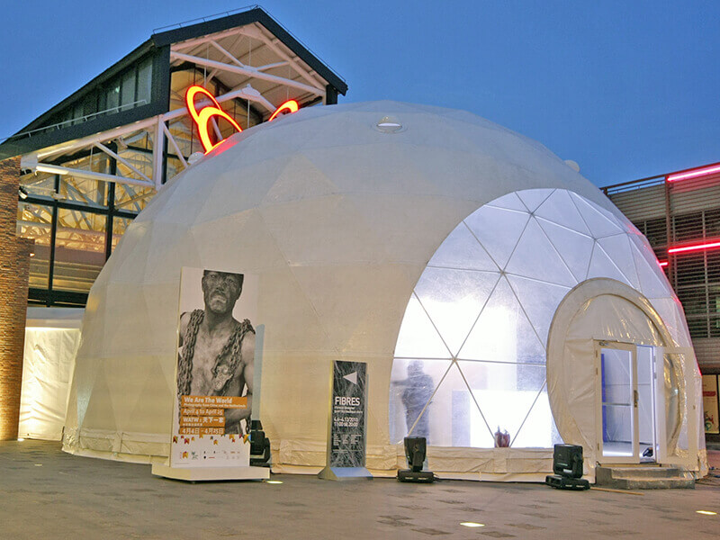 8 meters Geodesic Dome Tent