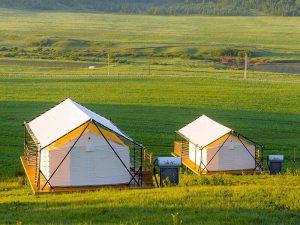 Custom Canvas Cottage Tent